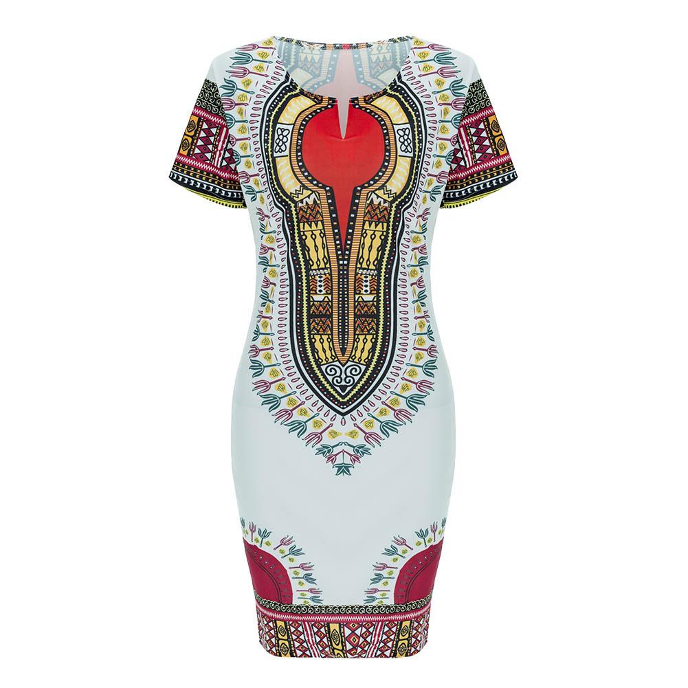 aafb8911b593 Summer Women Dresses Bohemia Traditional African Print Dashiki Bodycon Dress  - Wholesale Retailer Fashion Women s Tops